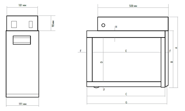 Размеры габариты электронных воздушных фильтров систем кондиционирования